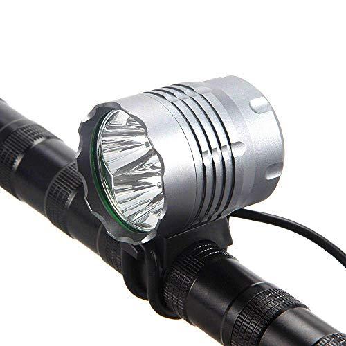 4T6 fietslamp voor mountainbike, nachtlampje buiten, sterke schijnwerper, 3 modi, helder aluminium, hoge temperatuur, wzmdd