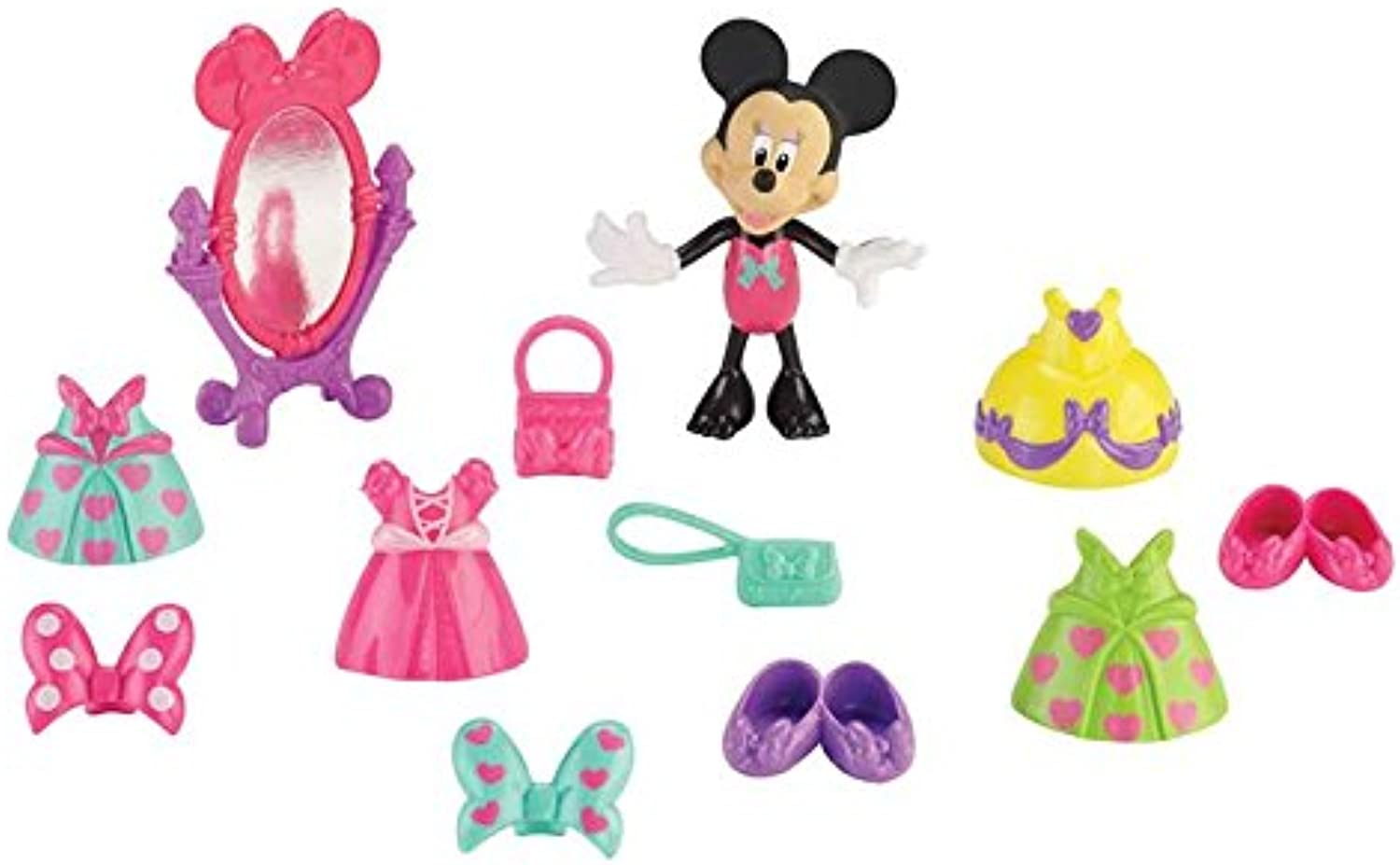 ToyCentre Fisher-Price Disney's Minnie Mouse Ball Gala Playset
