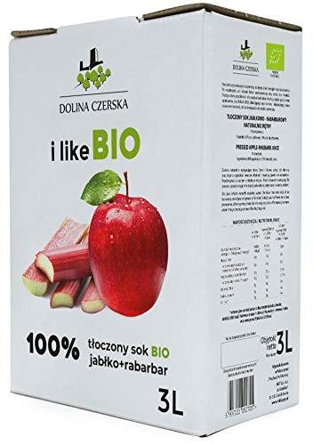 Apfel-Rhabarber-Saft BIO 3 L - DOLINA CZERSKA