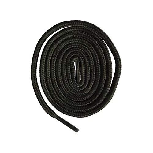 Zusätzliche Schnürsenkel 300cm Lange Runde Schnürsenkel Schuh Schnürsenkel Schnur Seile Shoestrings, schwarz, 300cm