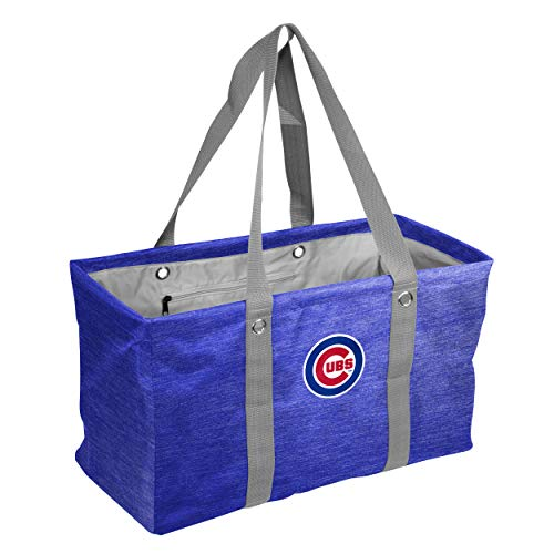 logobrands MLB Chicago Cubs Crosshatch Picnic Caddy, Team Color, One Size