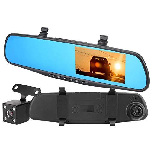 KUIDAMOS Espejo retrovisor para automóvil Grabadora DVR DVR 1080P HD, para almacenar más Videos