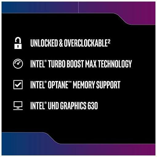 Intel bx80684i59600k - CPU intel Core i5-9600k 3.70ghz 9m lga1151 bx80684i59600k 984505, Gris 4