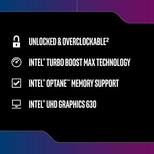 Intel Core i5-9600K Desktop Processor 6 Core   s up to 4.6 GHz Turbo unlocked LGA1151 300 Series 95W