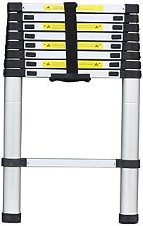 Telescoping Ladder Aluminum Telescopic Extension Tall Multi Purpose 2/2.6/3.2M (2.6M)
