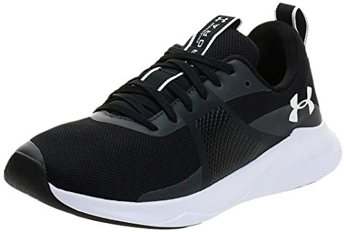 Under Armour Women's Charged Aurora Cross Trainer, Black (001)/White, 8 M US