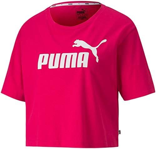 Essential Cropped Logo tee Camiseta para Mujer