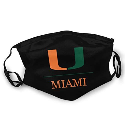 Miami University Black Anti-Dust Face Mouth Mask Dust Mask