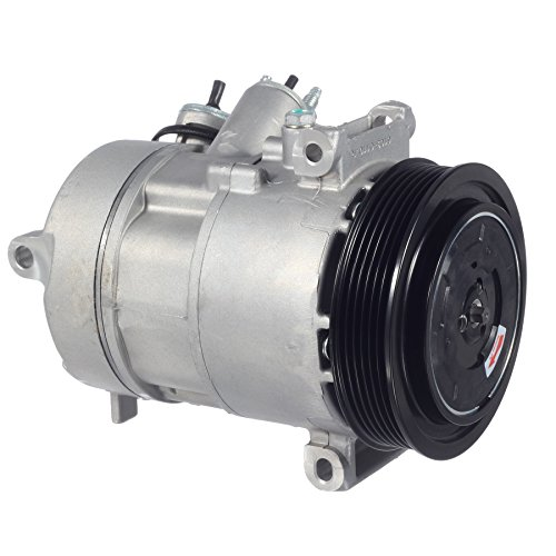AUTEX AC Compressor & A/C Clutch CO 30011C Compatible with Caliber 2009 1.8L/Caliber 2009 2010 2011 2012 2.0L 2.4L/Compass & Patriot 2009 2010 2011 2012 2013 2014 15 16 17 2.0L 2.4L