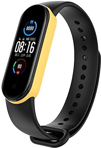 Gransho Correa de Reloj Reemplazo Compatible con Xiaomi Mi Band 5 / Xiaomi Mi Band 6 / Amazfit Band 5, la Correa de Reloj Watch Band Accessorios (Pattern 12)