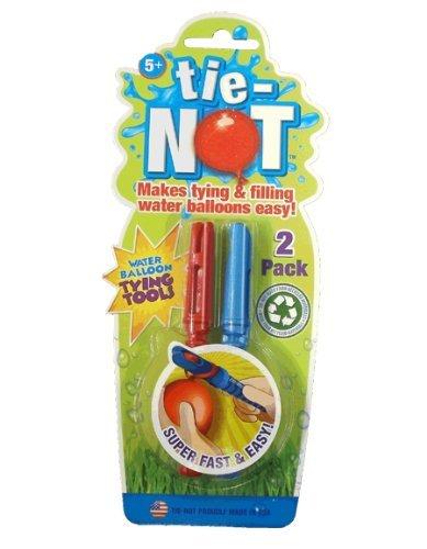 TIE-NOT Water Balloon Tying Tools 2 Pack