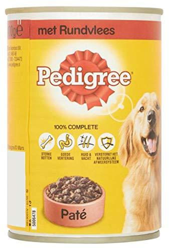 400 GR Pedigree blik adult pate rundvlees hondenvoer