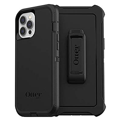 OtterBox Defender Series SCREENLESS Edition Case for iPhone 12 Pro Max - Black (77-65923)
