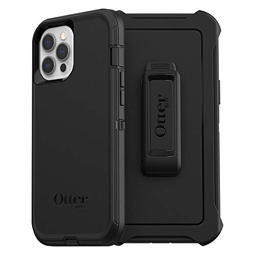 OtterBox Defender Series SCREENLESS Edition Case for iPhone 12 Pro Max - Black