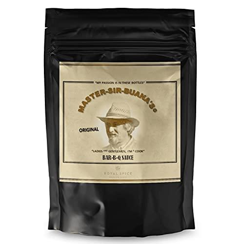 Royal Spice Master Sir Buana BBQ Sauce zum Selber Machen - 700g Beutel - Gewürzmischung für Legendäre M-S-B Barbecue Soße mit Unglaublichem Geschmack