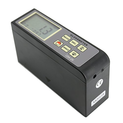 Lowest Price! Graigar GM-26 Portabel Digital Glossmeter Gloss Meter 20º 60º 0.1-200Gu Range with D...