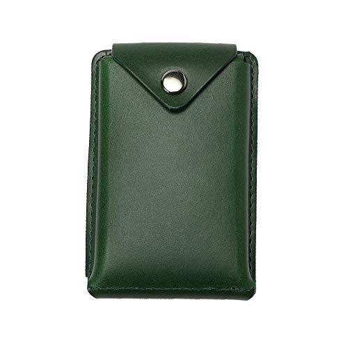 (アブラサス)abrAsus 薄いカードケース ブッテーロレザーエディション グリーン
