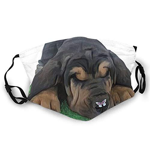 FrancisGuo - Máscara de esquí cómoda para cachorros con diseño de perro sangre, resistente al viento, para hombre y mujer