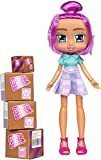 Boxy Girls - Pink Hair Berkley Doll - Season (3) Fashion and Clothes Dolls - (4) Unboxing Boxes Included with Surprise Clothes and Accessories Inside