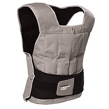 Perfect Fitness Weight Vest 40-Pound Grey