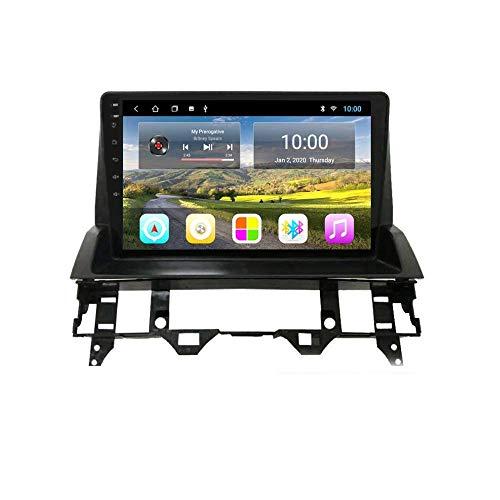Hesolo In Dash 9 Pulgadas Android 8.1 Car Audio DVD Reproductor Multimedia Radio Video Estéreo Navegación GPS Compatible para Mazda 6 (2004-2010) (RAM 1G + ROM 16G)