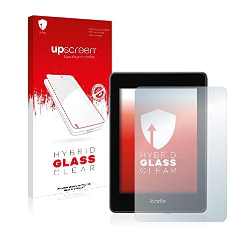 upscreen Protector Pantalla Cristal Templado Compatible con Amazon Kindle Paperwhite 2018 (10a generación) Hybrid Glass - 9H Dureza