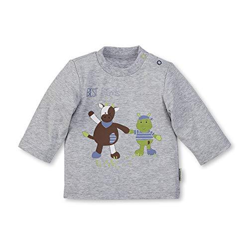 Sterntaler Sterntaler Langarm-Shirt Wieslinge, Alter: 6-9 Monate, Größe: 74, Silber