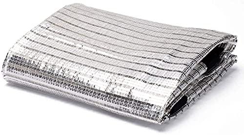 LIXFDJ 85% Sunblock Shade PANTEL ANTRIVIENDO Red REDESANTE UV, PAZA DE Aluminio PAZA DE SOLUCIÓN DE Pantalla Net Oriente Inverno AISLICACIÓN Termal Net (Tamaño: 1x7m) | Código del Producto: CC-101