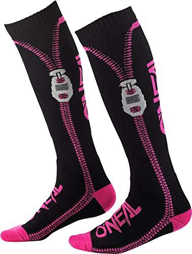 O'NEAL Pro MX Zipper Socken schwarz/pink Einheitsgröße 2020 Oneal