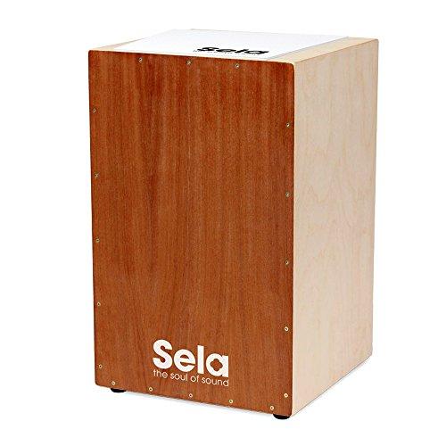 Sela Cajon Bausatz SE001 : komplett mit Buch, CD, weißem Sela Cajon Pad (rutschfeste Sitzauflage) : Alles dabei, nur Schrauber benötigt