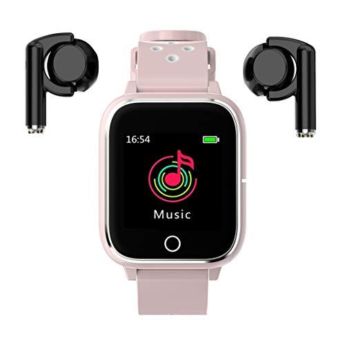 Reloj inteligente con auriculares Bluetooth M6 3 en 1 TWS MP3 Sport Brazalete Bluetooth inteligente reloj de la ayuda del sueño del ritmo cardíaco Monitoreo Monitoreo de Presión de fotos Recordatorio