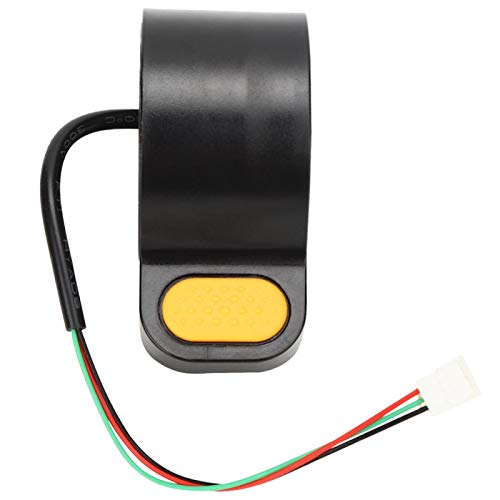 Bnineteenteam Acelerador de Pulgar de Scooter, Accesorios de Acelerador de Pulgar de Acelerador de Pulgar de Velocidad de Scooter eléctrico para Ninebot MAX-G30