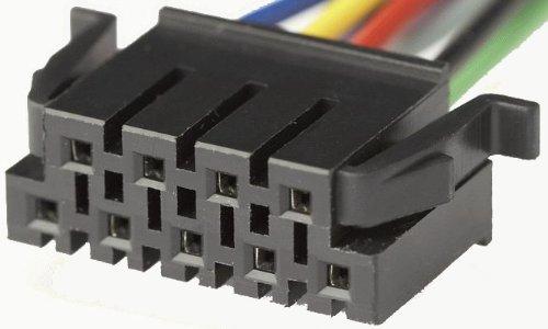 Autokit Jvc4-80-Connettore per Autoradio ISO, 9 Pin