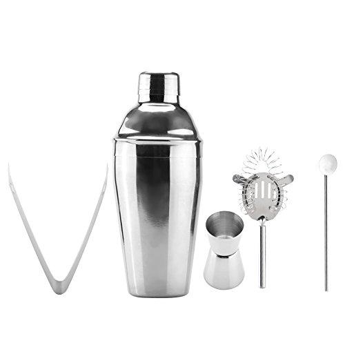 Cocktail Shaker,1 Set Stainless Steel Cocktail Shaker Mixer Drink Bartender Tools Bar Set Kit Home Use