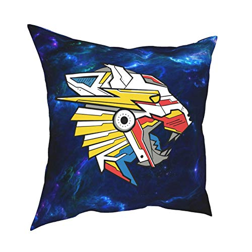 Ynjgqeo Mr Beast Throw Pillow Covers for Sofa Couch Pillowcase Bedroom Car Home Soft Travel Square Gifts 12' X12