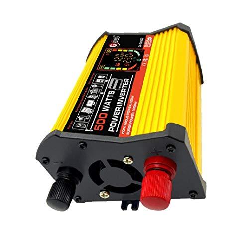 OMMO LEBEINDR DC 12V a 110V AC convertidor de energía de Onda sinusoidal Pura 500W Cargador de Coche AdapterGood ayudante de Industria