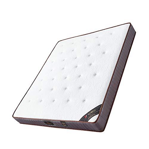 Colchón de látex natural, colchón de muelles ensacados independiente ecológico de coco marrón Simmons,180 * 200 * 23cm