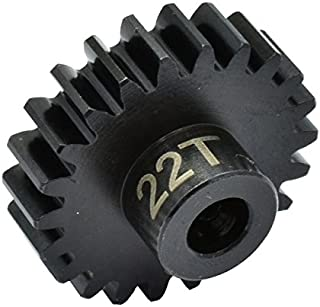 Hot Racing NSG22M1 22t Steel Mod 1 Pinion Gear 5mm