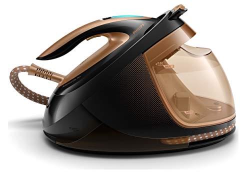 Philips gc9682/80Perfect Care Elite Plus plancha al vapor, dynamiq Sensor, 8bar, 1.8L, 2700W, Cobre/Negro