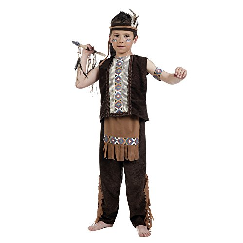 Limit Mi964 T4 Indian Boy Costume pour Enfant