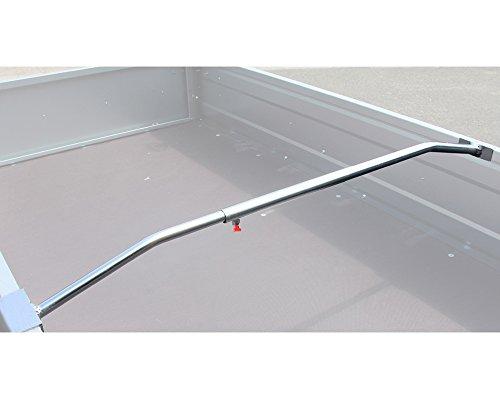 The Drive -17490- Aluminium Flachplanenbügel für Anhänger verstellbar von ca. (134-204cm)