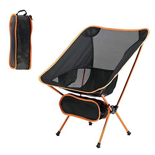 Camping Chair Eat Camp Ultralight Portable Folding Chairs, Heavy Duty 280lbs Beach Chairs with Lightweight Carrying Bag for Outdoor Camping, Backpacking, Hiking, BBQ