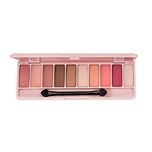Auifor Oogschaduw-cosmetica set met kwast 10 kleuren make-up palet 2#