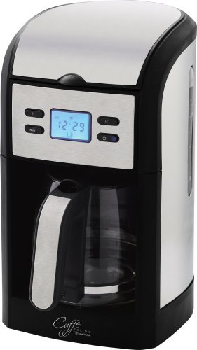 Russell Hobbs Filter Coffee Maker with Glass Jug 14597 - Stainless Steel/Black