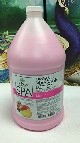 Great Deal! La Palm Spa Organic Collagen Massage Lotion Mango 1 Gallon