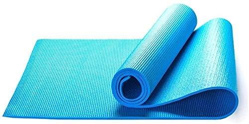GDFEH Esterilla Yoga Travel Yoga Mat Home Gym Gym Equipment Pilates and Gymnastics Ejercicio Mat Pilates PVC Ligero y Duradero Esteras de Entrenamiento también Ideal como Estera de Camping Yoga Mat