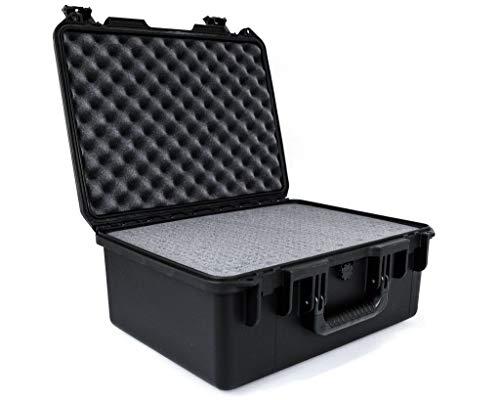 PELI Storm IM2450 valise de transport étanche pour l'électronique, étanche à l'eau et à la poussière, capacité de32L, fabriquée aux États-Unis, avec insert en mousse personnalisable, couleur: noire