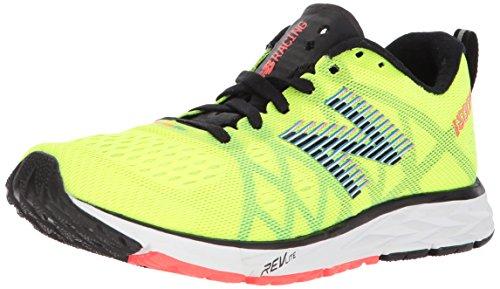 New Balance Zapatillas de running 1500 V4 para mujer, amarillo (hi lite/negro), 35 EU