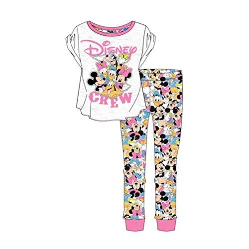 Disney Mickey Mouse y Amigos Conjunto de Pijama de Las Mujeres