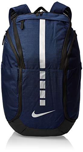 NIKE Hoops Elite Hoops Elite Basketball Backpack MIDNIGHT NAVY/BLACK/MTLC COOL GREY